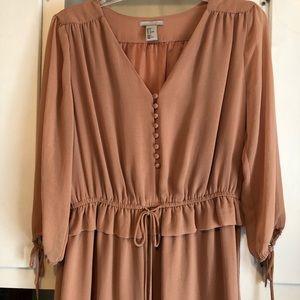 Sheer dress HM size 8